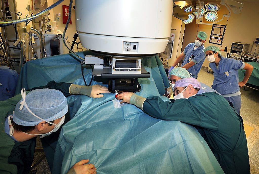 operatie en bestraling fotojoslammers7262
