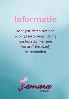 Informatie over voortgezette hormoontherapie met Femara® na 5 jaar tamoxifen